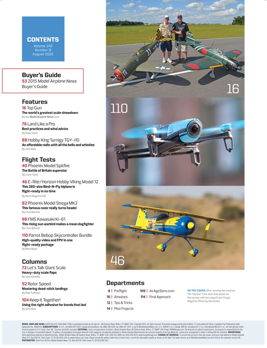 Buyer S Guide To Wardrobes: Model Airplane News Buyer's Guide 2015