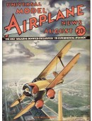 Model Airplane News Vintage Cover Poster - August 1934