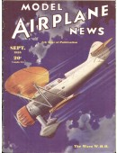 Model Airplane News Vintage Cover Poster - September 1935
