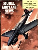 Model Airplane News Vintage Cover Poster - April 1955
