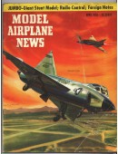 Model Airplane News Vintage Cover Poster - April 1956