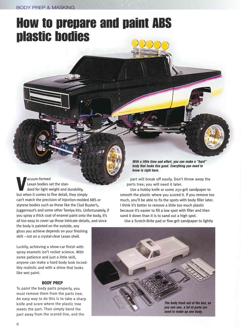 Painting and Detailing RC Bodies - RC Cars - All-Books - Air Age Store