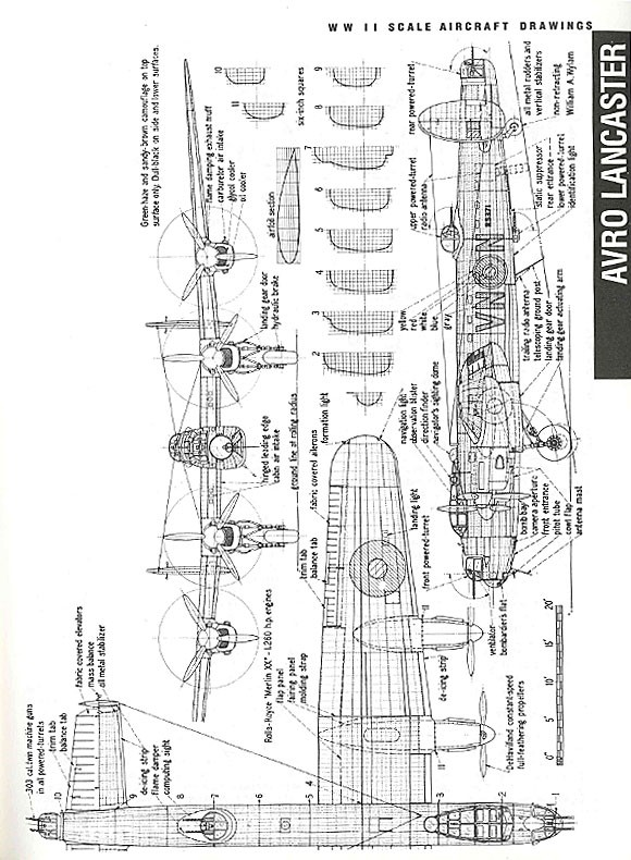 Scale Aircraft Drawings: Vol.2 WW II - Air Age Store