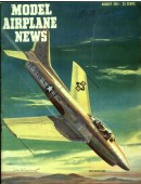 Model Airplane News Vintage Cover Poster - August 1951