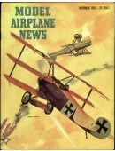 Model Airplane News Vintage Cover Poster - November 1953