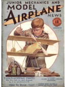 Model Airplane News Vintage Cover Poster - March 1930