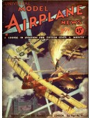 Model Airplane News Vintage Cover Poster - November 1932