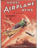Model Airplane News Vintage Cover Poster - December 1936