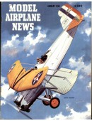 Model Airplane News Vintage Cover Poster - January 1954