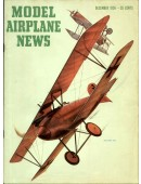 Model Airplane News Vintage Cover Poster - December 1956