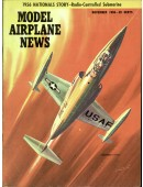 Model Airplane News Vintage Cover Poster - November 1956