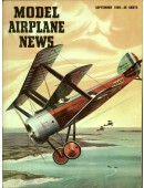 Model Airplane News Vintage Cover Poster - September 1956
