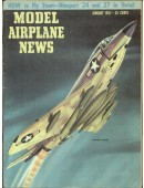 Model Airplane News Vintage Cover Poster - January 1957