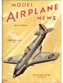 Model Airplane News Vintage Cover Poster - February 1939