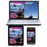 Rotor Drone Digital Edition (Only) - One Full Year (6 issues)