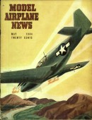 Model Airplane News Vintage Cover Poster - May 1944