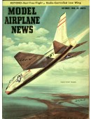 Model Airplane News Vintage Cover Poster - October 1956