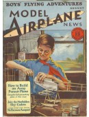 Model Airplane News Vintage Cover Poster - August 1929